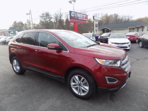 2017 Ford Edge for sale at Comet Auto Sales in Manchester NH