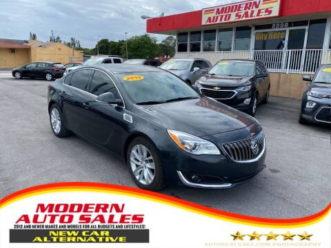 2016 Buick Regal for sale at Modern Auto Sales in Hollywood FL