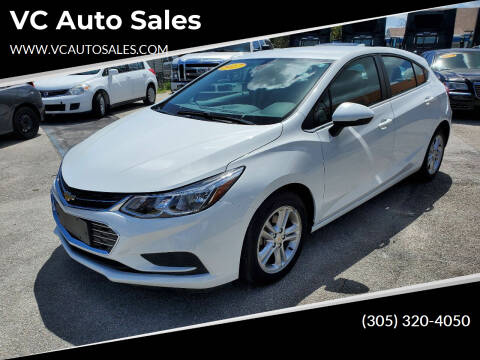 2017 Chevrolet Cruze for sale at VC Auto Sales in Miami FL