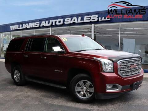 2016 GMC Yukon XL for sale at Williams Auto Sales, LLC in Cookeville TN