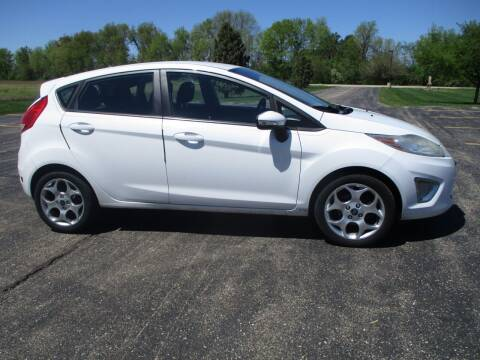 2011 Ford Fiesta for sale at Crossroads Used Cars Inc. in Tremont IL