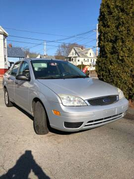 2007 Ford Focus for sale at Emory Street Auto Sales and Service in Attleboro MA