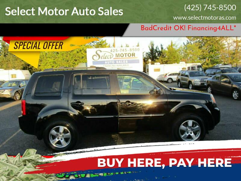 2009 Honda Pilot for sale at Select Motor Auto Sales in Lynnwood WA