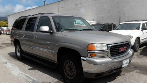 2002 GMC Yukon XL for sale at Goleta Motors in Goleta CA