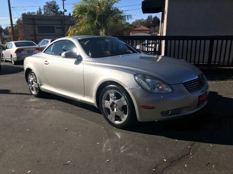 2003 Lexus SC 430 for sale at Three Bridges Auto Sales in Fair Oaks CA