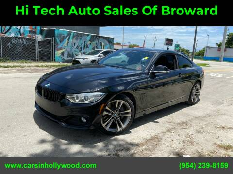 2014 BMW 4 Series for sale at Hi Tech Auto Sales Of Broward in Hollywood FL