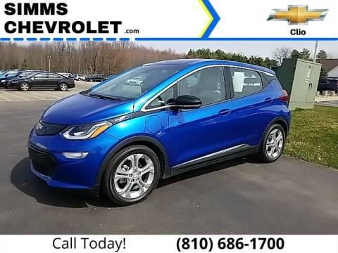 2020 Chevrolet Bolt EV for sale at Aaron Adams @ Simms Chevrolet in Clio MI