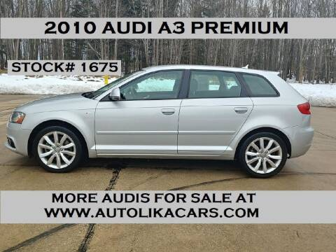 2010 Audi A3 for sale at Autolika Cars LLC in North Royalton OH