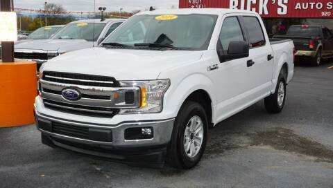 2019 Ford F-150 for sale at Ricks Auto Sales, Inc. in Kenton OH