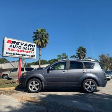 2007 Mitsubishi Outlander for sale at Brevard Auto Sales in Palm Bay FL