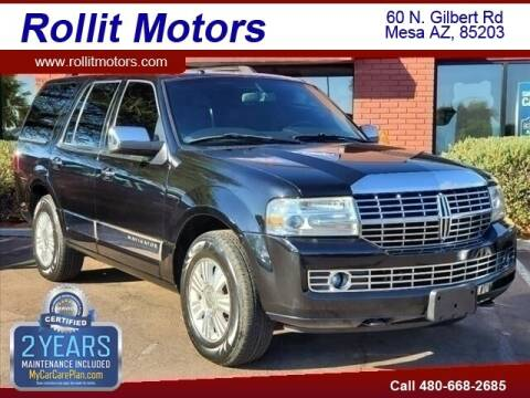 2007 Lincoln Navigator for sale at Rollit Motors in Mesa AZ