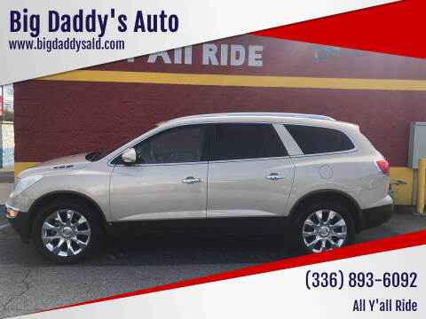2010 Buick Enclave for sale at Big Daddy's Auto in Winston-Salem NC