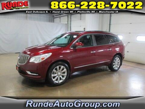 2016 Buick Enclave for sale at Runde PreDriven in Hazel Green WI