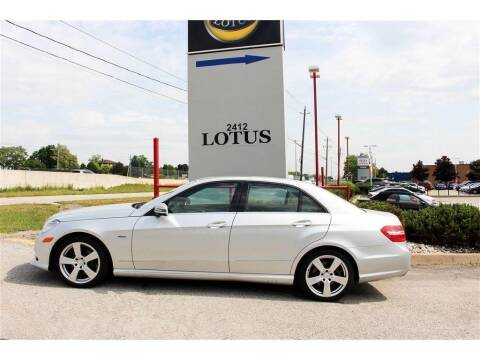 2012 Mercedes-Benz E-Class for sale at Peninsula Motor Vehicle Group in Oakville Ontario NY