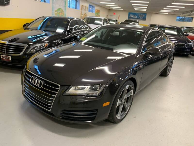 2014 Audi A7 for sale at Newton Automotive and Sales in Newton MA