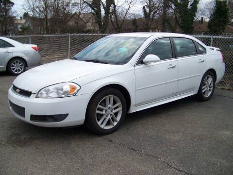 2012 Chevrolet Impala for sale at Collector Car Co in Zanesville OH