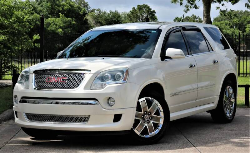 2012 GMC Acadia for sale at Texas Auto Corporation in Houston TX