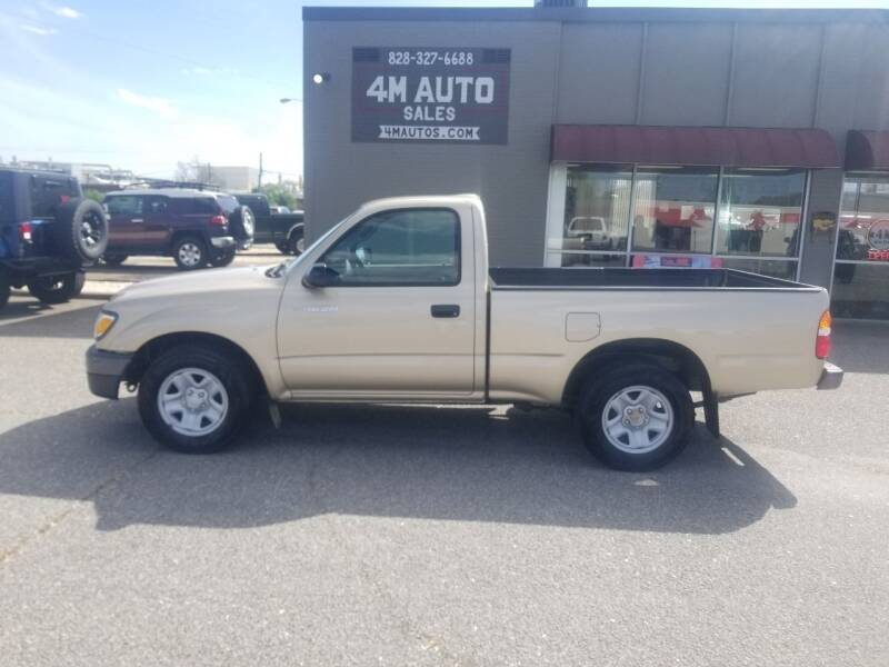 2004 Toyota Tacoma for sale at 4M Auto Sales | 828-327-6688 | 4Mautos.com in Hickory NC