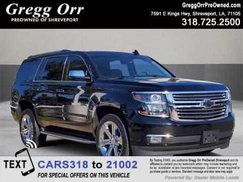 2017 Chevrolet Tahoe for sale at Gregg Orr Pre-Owned Shreveport in Shreveport LA
