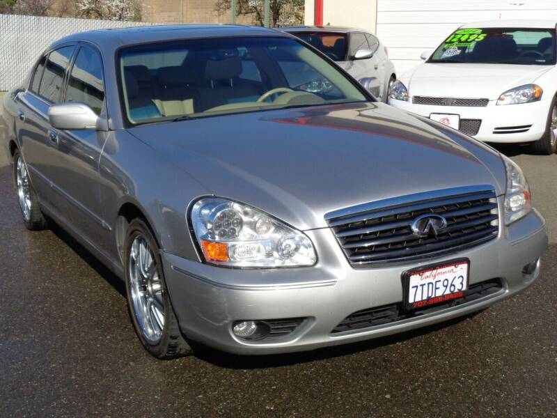 2005 Infiniti Q45 for sale at NorCal Auto Mart in Vacaville CA