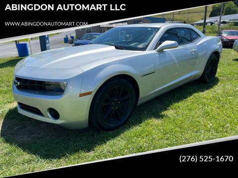 2013 Chevrolet Camaro for sale at ABINGDON AUTOMART LLC in Abingdon VA