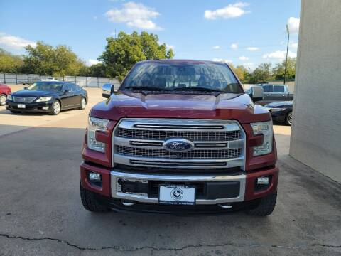 2015 Ford F-150 for sale at JJ Auto Sales LLC in Haltom City TX