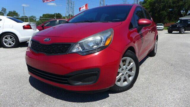 2015 Kia Rio for sale at Das Autohaus Quality Used Cars in Clearwater FL