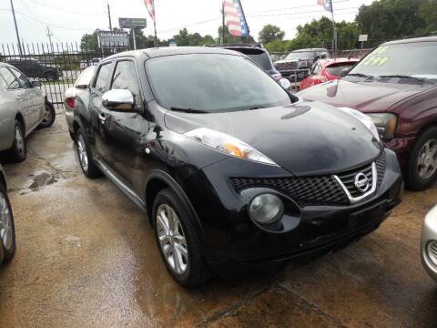 2012 Nissan JUKE for sale at SCOTT HARRISON MOTOR CO in Houston TX