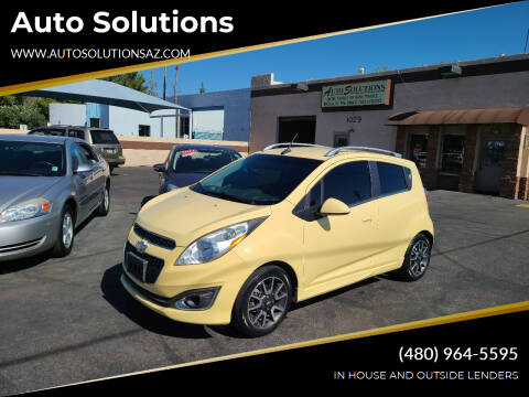 2013 Chevrolet Spark for sale at Auto Solutions in Mesa AZ