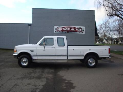 1996 Ford F-250 for sale at Motion Autos in Longview WA
