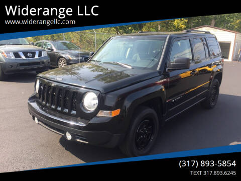 2013 Jeep Patriot for sale at Widerange LLC in Greenwood IN