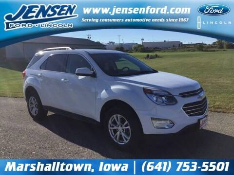 2017 Chevrolet Equinox for sale at JENSEN FORD LINCOLN MERCURY in Marshalltown IA