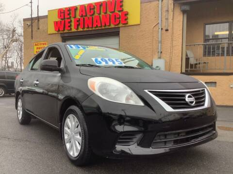 2013 Nissan Versa for sale at Active Auto Sales Inc in Philadelphia PA
