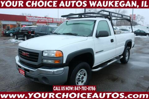 2006 GMC Sierra 2500HD for sale at Your Choice Autos - Waukegan in Waukegan IL