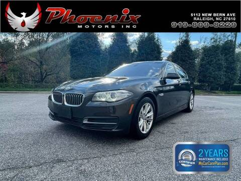 2014 BMW 5 Series for sale at Phoenix Motors Inc in Raleigh NC