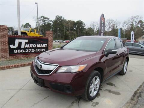 2014 Acura RDX for sale at J T Auto Group in Sanford NC