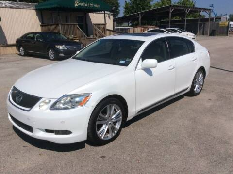 2007 Lexus GS 450h for sale at OASIS PARK & SELL in Spring TX
