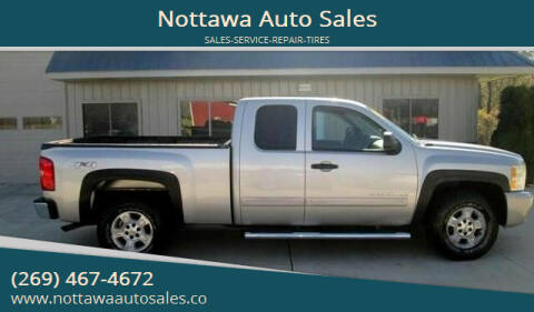 2007 Chevrolet Silverado 1500 for sale at Nottawa Auto Sales in Nottawa MI