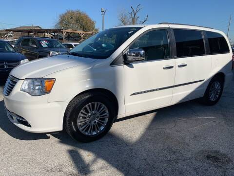 2013 Chrysler Town and Country for sale at FAIR DEAL AUTO SALES INC in Houston TX