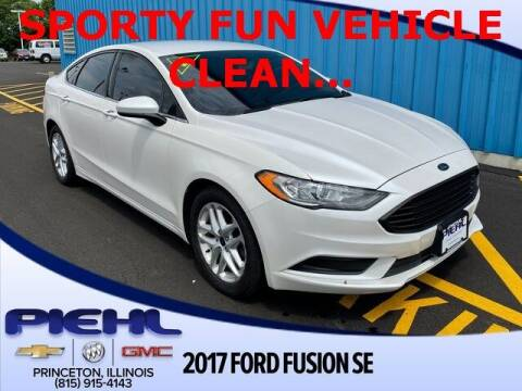 2017 Ford Fusion for sale at Piehl Motors - PIEHL Chevrolet Buick Cadillac in Princeton IL