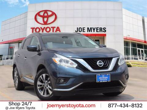 2017 Nissan Murano for sale at Joe Myers Toyota PreOwned in Houston TX