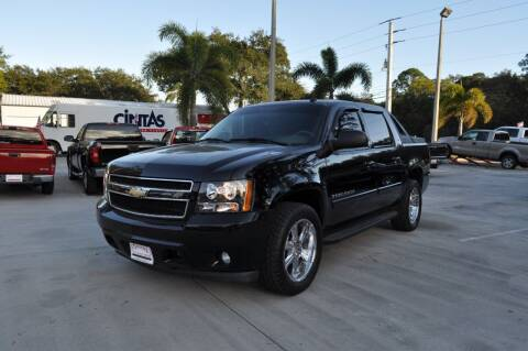2007 Chevrolet Avalanche for sale at STEPANEK'S AUTO SALES & SERVICE INC. in Vero Beach FL
