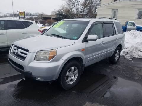 2006 Honda Pilot for sale at Credit Connection Auto Sales Inc. CARLISLE in Carlisle PA