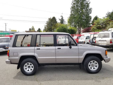 1991 Isuzu Bighorn Irmsher S turbo diesel for sale at JDM Car & Motorcycle LLC in Seattle WA