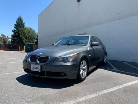 2006 BMW 5 Series for sale at TREE CITY AUTO in Rancho Cordova CA
