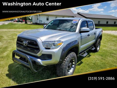 2017 Toyota Tacoma for sale at Washington Auto Center in Washington IA