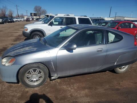 2001 Honda Insight for sale at PYRAMID MOTORS - Fountain Lot in Fountain CO