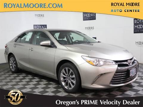 2016 Toyota Camry for sale at Royal Moore Custom Finance in Hillsboro OR