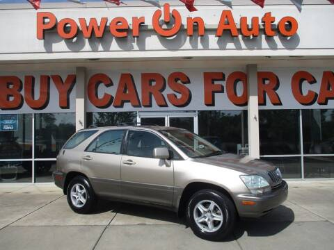 2002 Lexus RX 300 for sale at Power On Auto LLC in Monroe NC