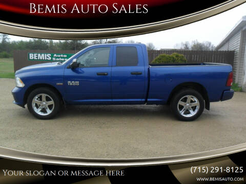 2014 RAM Ram Pickup 1500 for sale at Bemis Auto Sales in Crivitz WI